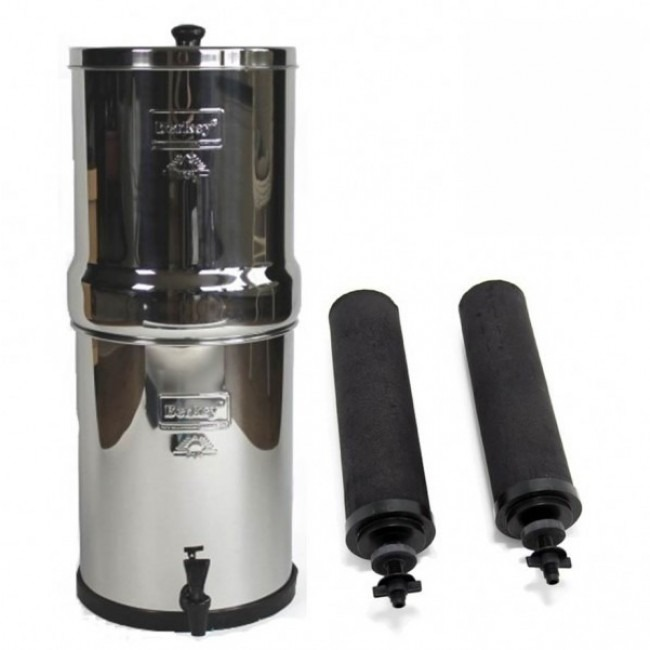 Big Berkey (8.5 L) Portable Gravity Water Filter System