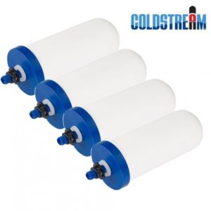 "Coldstream Sentry 2.9"" x 8"" 4 pack Replacement Ceramic Filters"