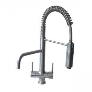 Azzurra Breve Brushed Chrome 3-Way (Tri-flow) Kitchen Tap Spray Hose