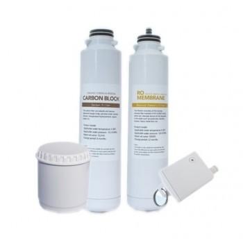 Osmio Zero IP-II Portable Reverse Osmosis Replacement Filters Pack