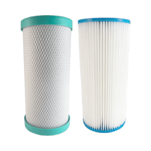 Replacement Filters Pack for Watts Pro 4.5 x 10 Inch Dual Whole House System