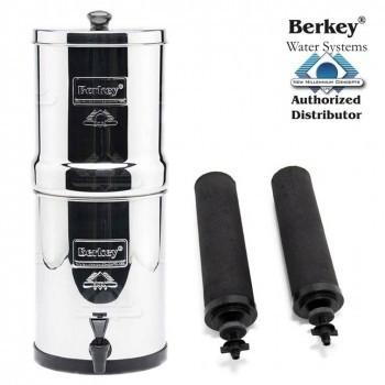 Travel Berkey (5.7 L) Portable Gravity Water Filter System