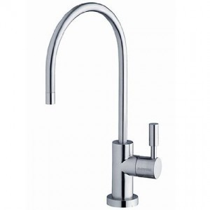 Osmio Swan Neck Chrome Water Filter Tap