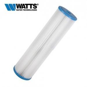 Watts Flow-Max 5 Micron 4.5 x 20 Inch  Pleated Sediment Cartridge