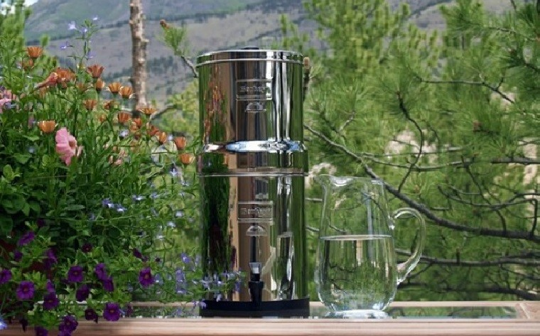 Big Berkey Portable Gravity Water Filter