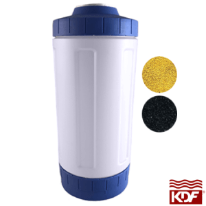4.5 x 10 Inch KDF and GAC Filter