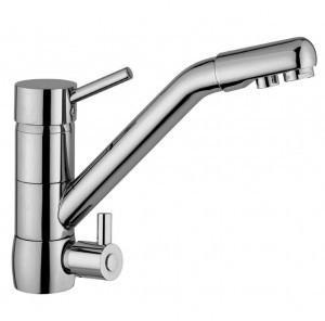 Osmio Sofia Long Reach Chrome Triflow Kitchen Water Filter Tap